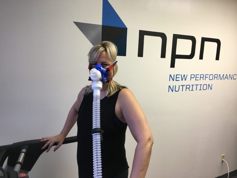 Sheila at New Performance Nutrition